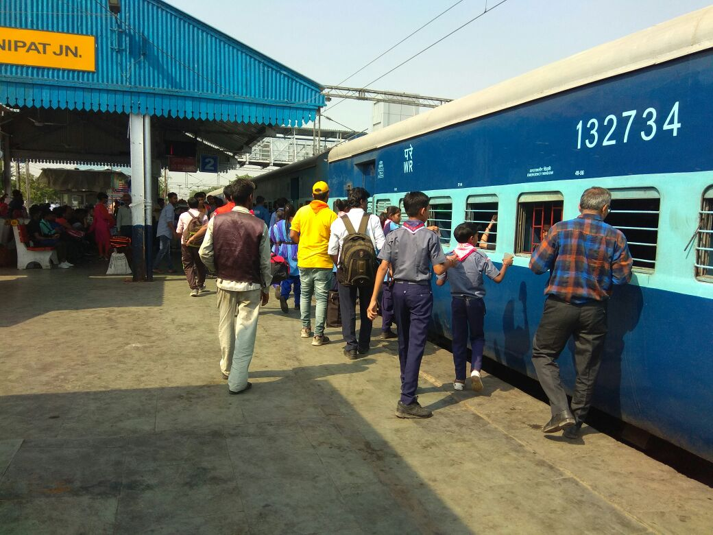 Image result for panipat junction train