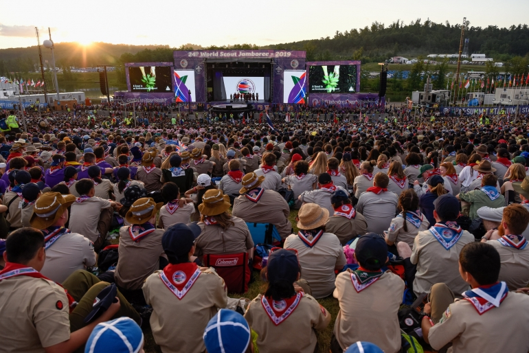 24th World Scout Jamboree officially begins through vivacious
