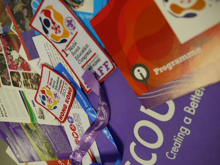 World Scout Education Congress: Online library, after-movie and