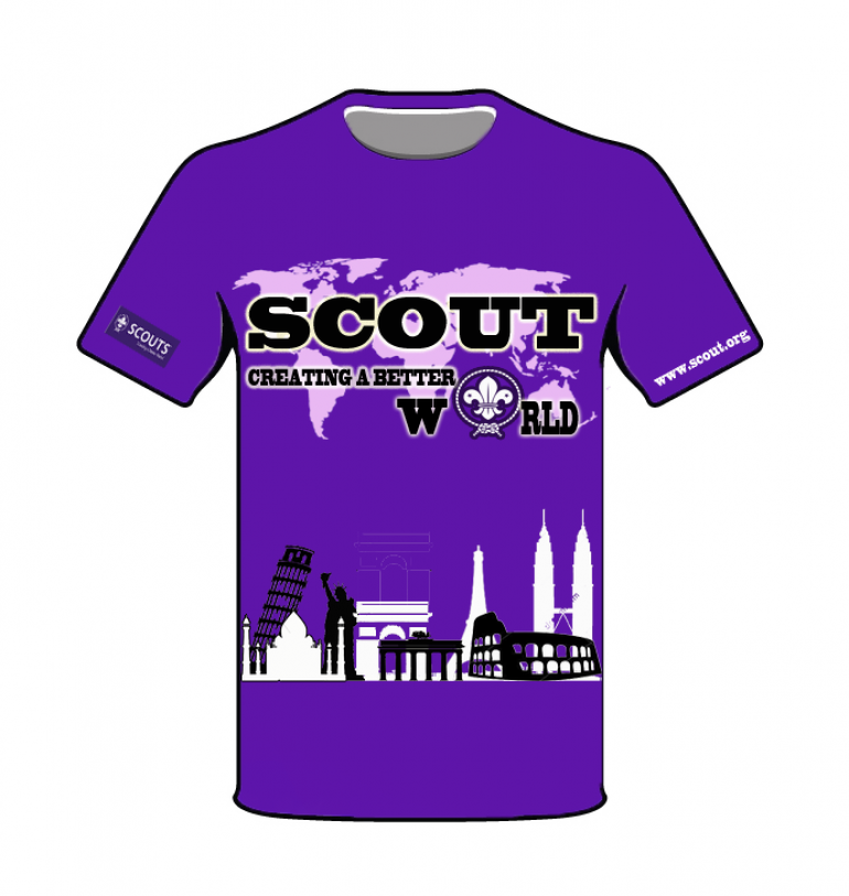 CompetitionMalaysia Scout T World Design Association Shirt 5jqL34AcR
